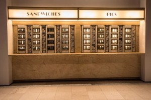 """Make sure to visit the NY Public Library exhibit on """"Lunch"""" which features the Automat. We proudly supplied them with their historic Automat machines."""