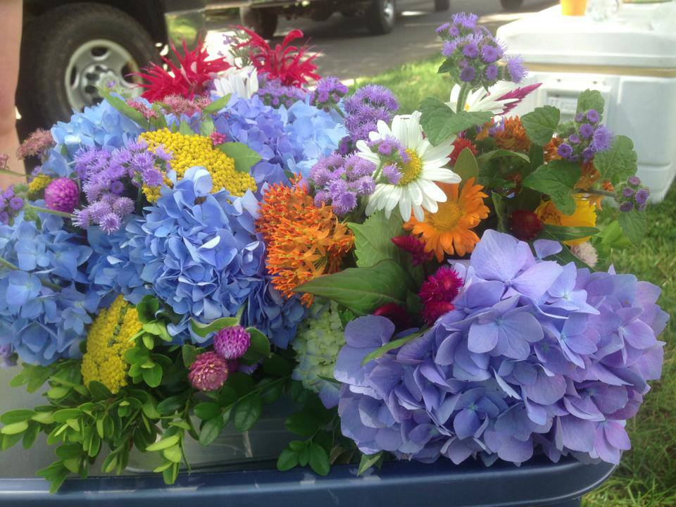 First Summer Farmers Market of 2014 in Durham, CT Today!