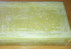 1 lb. yellow beeswax block