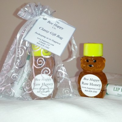 Gift bags $7 from The Bee Happy Co. make the holiday season extra special and will make your loved ones smile.