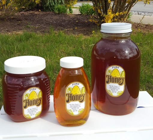 Pure raw honey unpasteurized